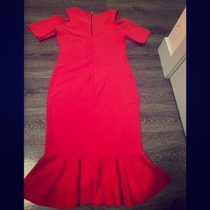 Pink blush brand - Red midi dress